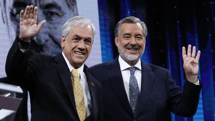 Piñera y Guillier descartan pedir renuncia de general director de Carabineros en eventual Gobierno