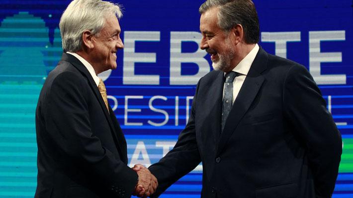 Piñera versus Guillier: Las 16 frases que marcaron el mejor debate presidencial del año