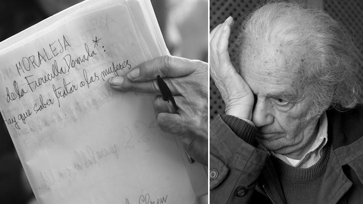 Familia de Nicanor Parra denuncia robo de cuadernos