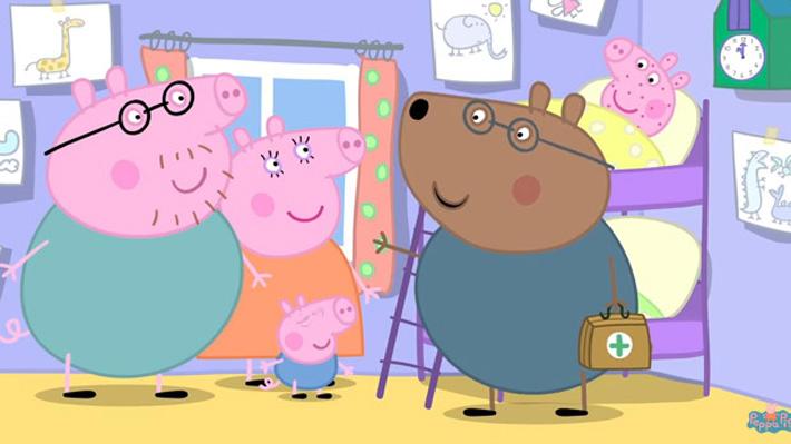 """Serie infantil """"Peppa Pig"""" es criticada por mal informar a la población sobre temas de salud"""