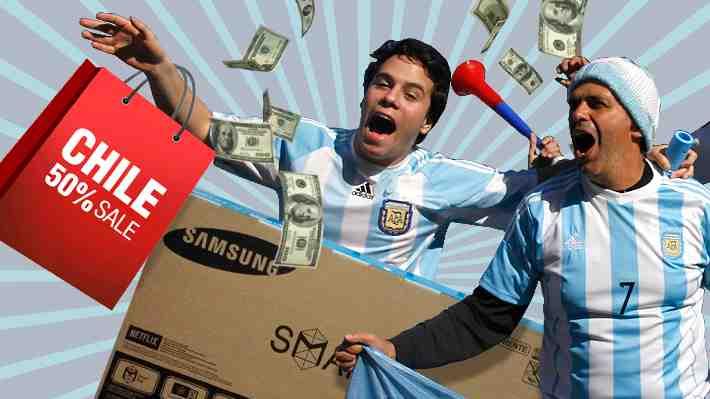Chile pierde atractivo de consumo para argentinos: sus compras caen hasta 50%. ¿Qué piensas?