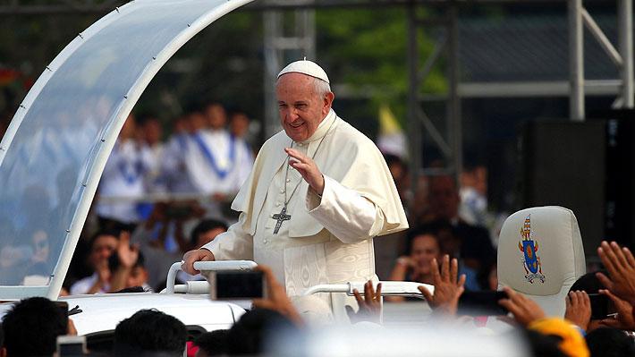 Revelan el recorrido del Papa y los lugares de retiro de entradas para ver a Francisco en Chile