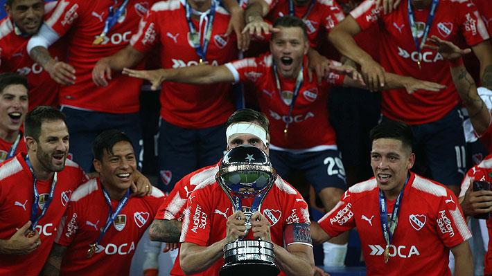 Independiente empata con Flamengo en Brasil y conquista su segunda Copa Sudamericana