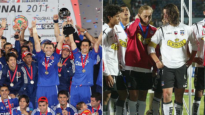 La U de Sampaoli sí pudo, pero el Colo Colo de Borghi no: Mira el listado de todos los campeones de la Copa Sudamericana