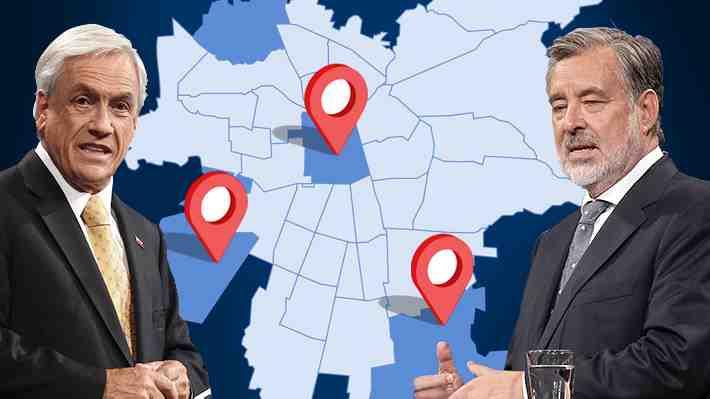 Las comunas que podrían definir la elección presidencial este domingo. ¿Son realmente claves?