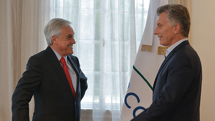 Mauricio Macri expresa su apoyo público a la candidatura de Sebastián Piñera