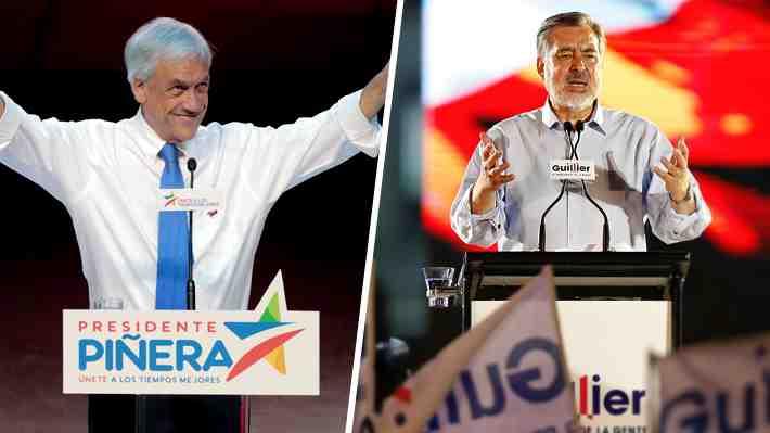 Piñera y Guillier cerraron sus campañas presidenciales. ¿Irás a votar este domingo?