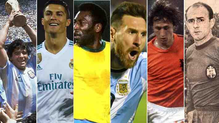 A raíz de la polémica entre Maradona y Cristiano: ¿Quién es el mejor jugador de la historia?