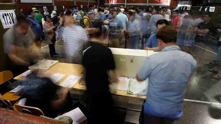 Vota y opina: A poco del cierre de mesas ¿fuiste a votar?