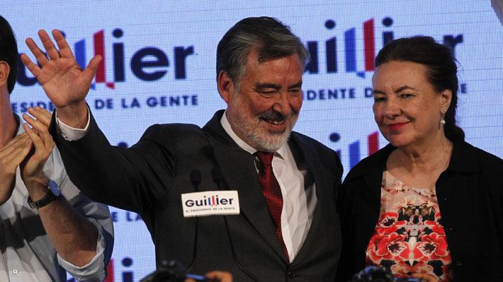 """Guillier reconoce """"dura derrota"""" y felicita a Sebastián Piñera"""
