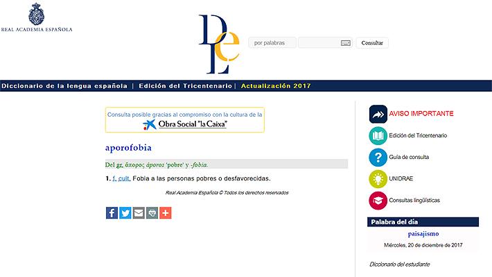 """La RAE modifica su diccionario digital e incorpora términos como """"posverdad"""", """"chusmear"""" y """"hummus"""""""