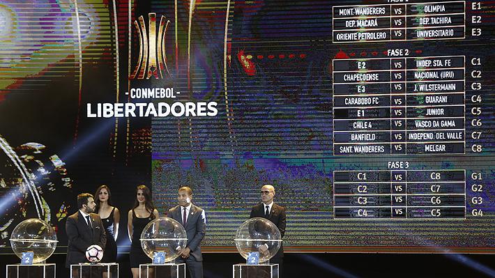 Colo Colo queda en abordable grupo y la U en una complicada zona para la Libertadores 2018