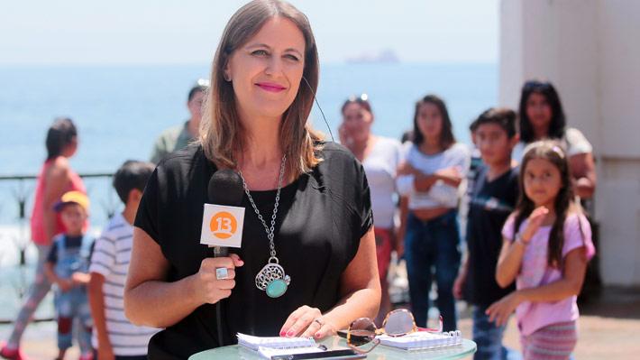 """Carolina Urrejola deja """"Teletrece Tarde"""" tras nueve años en la conducción"""