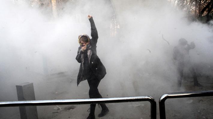 """Trump acusa al Gobierno de Irán de """"cerrar Internet"""" para acabar con las protestas"""