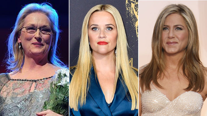 Meryl Streep, Reese Witherspoon y Jennifer Aniston lanzan iniciativa para defender a mujeres de los abusos sexuales