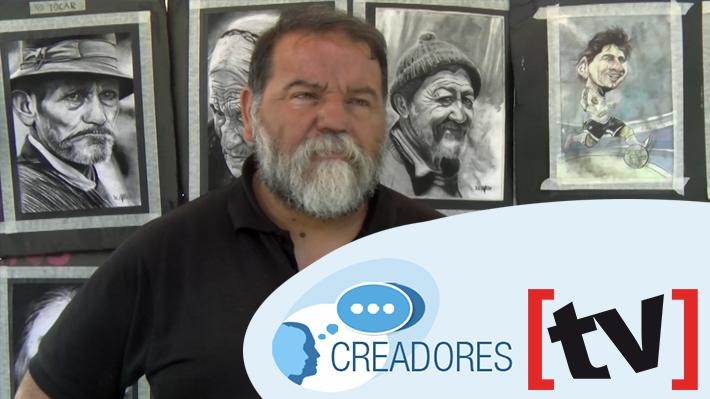 #Creadores: Robinson Avello, el pintor de Plaza de Armas y su pasión por el arte de ver