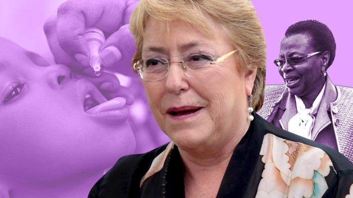Bachelet acepta cargo internacional: Será sucesora de viuda de Mandela en programa mundial de salud