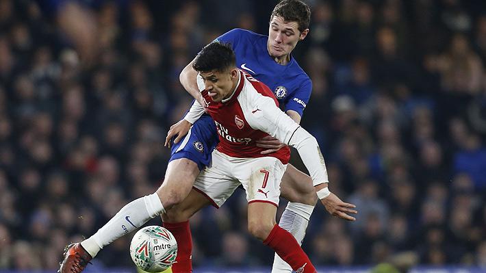 Wenger le da menos de media hora a Alexis y el Arsenal empata con el Chelsea en la semifinal de la Copa de la Liga