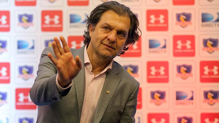 """Mosa anuncia que a Colo Colo llegarán """"dos o tres refuerzos, no del medio local"""" y aclara que Bolados partirá a la UC"""