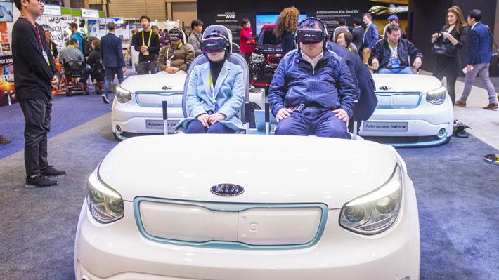 CES 2018: Kia sigue la tendencia de vehículos autónomos y conectados