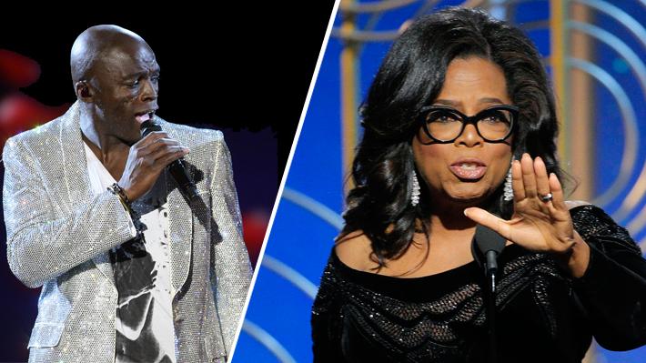 Seal acusa a Oprah Winfrey de ser cómplice de los abusos de Harvey Weinstein