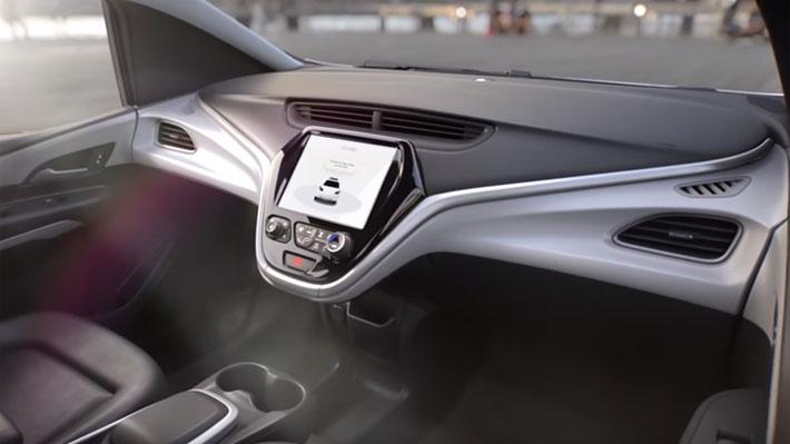 Sin volante ni pedales: GM pretende lanzar este futurista modelo en 2019