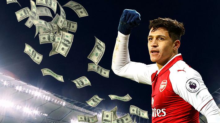 Más de 40 millones de pesos por día: Revisa el desglose de todo lo que ganaría Alexis si se va al United