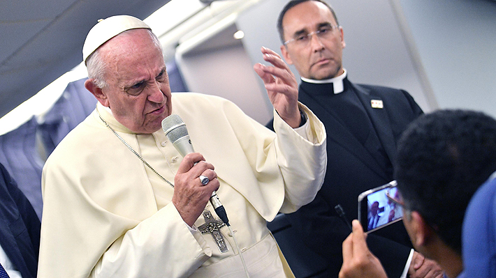 """Francisco: """"Debo pedir disculpas porque la palabra 'prueba' ha herido a muchos abusados"""""""