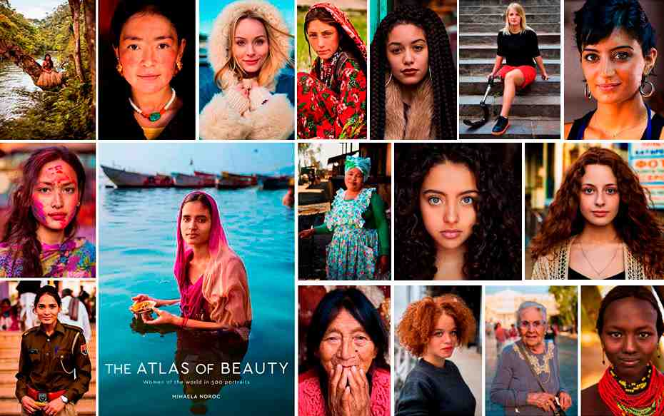 Fotos: Atlas fotográfico muestra la belleza de las mujeres alrededor del mundo