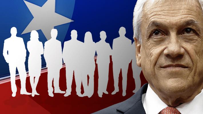 El gabinete de Piñera: Conoce a todos los ministros y compara su composición con anteriores gobiernos