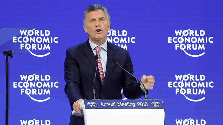 """Macri en Foro Económico Mundial: """"Ningún país tiene mayor potencial que Argentina"""""""