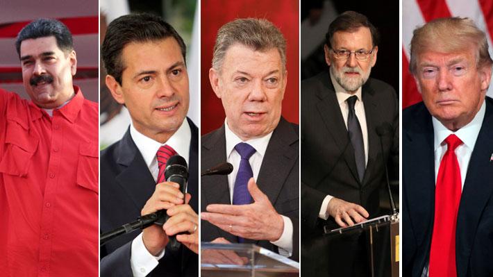 Venezuela y el mundo: Los incidentes con otros países que generaron mayor controversia en el último tiempo