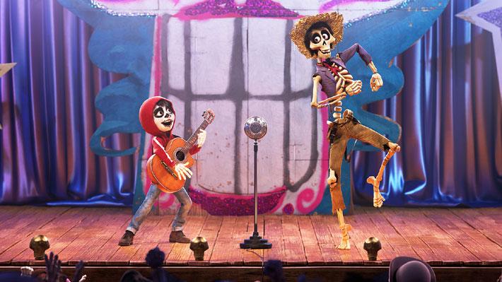 """""""Coco"""" se convierte en la película de Disney más vista en Chile"""