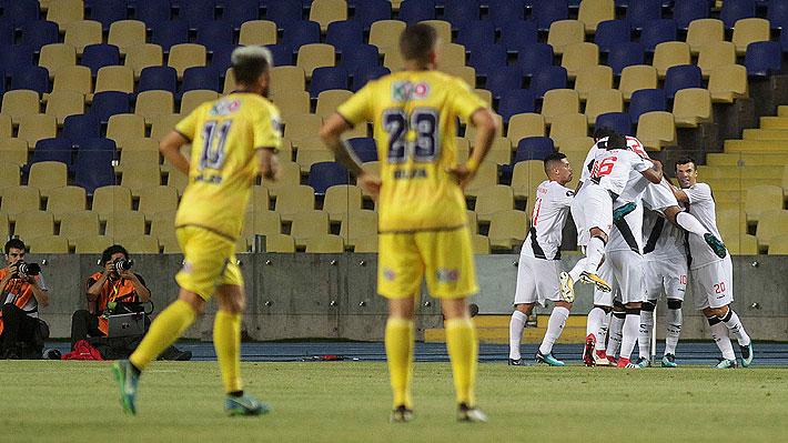 Con dos errores de su arquero, U. de Concepción cae por goleada y queda al borde de la eliminación en la Libertadores