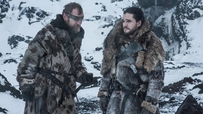 """""""Game of Thrones"""": Publican fotos inéditas de la primera batalla de la octava temporada"""