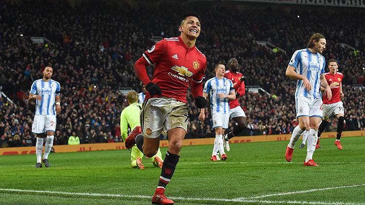 Mira cómo fue el primer gol de Alexis Sánchez en el Manchester United