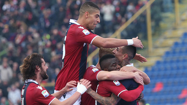 El golazo olímpico que marcó Erick Pulgar en la derrota del Bologna ante la Fiorentina