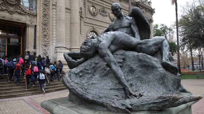 Denuncian daño a monumento del Museo de Bellas Artes tras paso de la Fórmula E