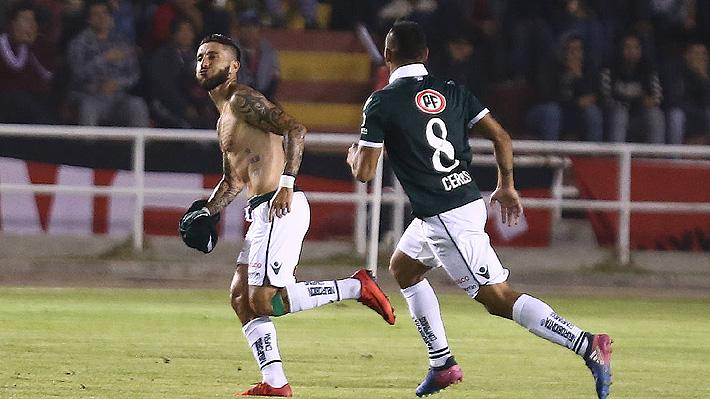 Wanderers logra la hazaña en Perú y con un golazo de Marco Medel avanza de fase en la Copa Libertadores