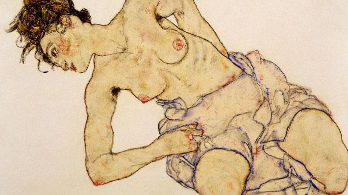 ¿Arte o pornografía? Obra de Egon Schiele vuelve a dividir a Europa a cien años de la muerte del pintor