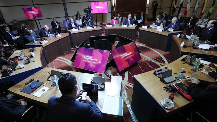 Perú convoca al Grupo de Lima este martes para analizar las polémicas elecciones en Venezuela