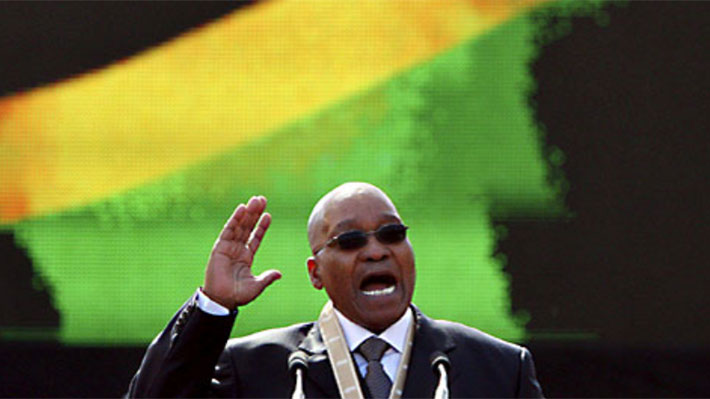 Cúpula partido gobernante Sudáfrica se reúne mañana para debatir la salida del presidente Jacob Zuma