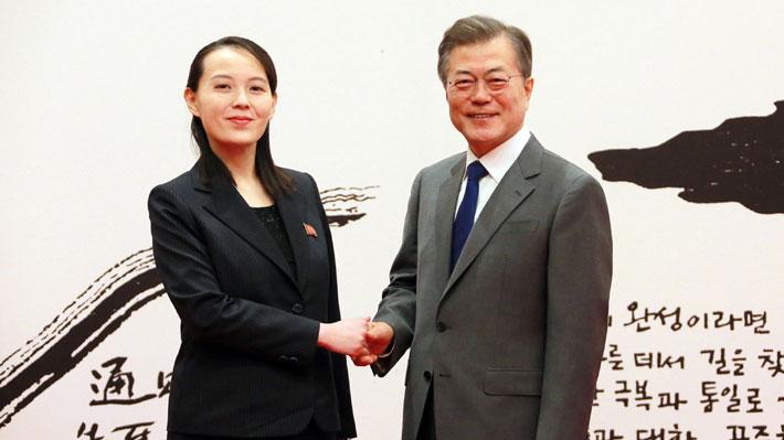 Hermana de Kim Jong-un concluye un histórico viaje a Corea del Sur