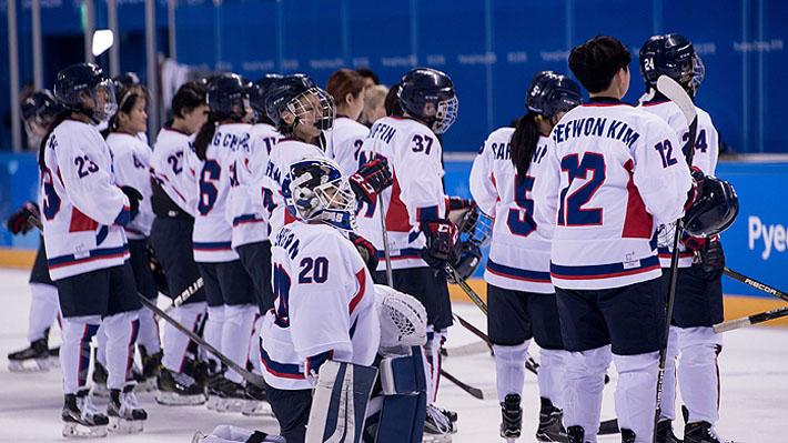 El equipo intercoreano de hockey al que postulan al Nobel de la Paz pero que genera problemas internos