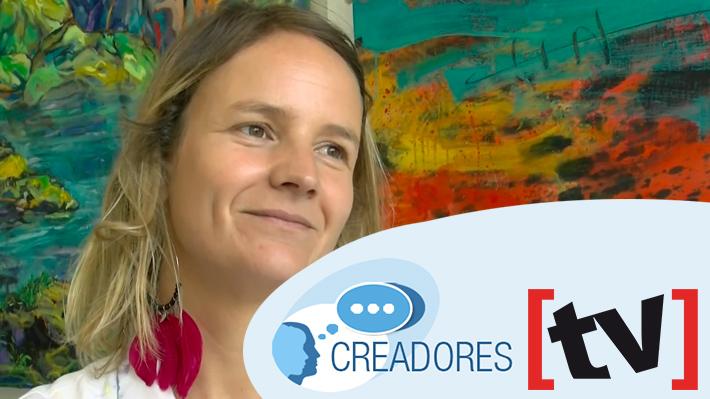 #Creadores: Guadalupe Valdés, la artista visual que transmite sus conocimientos a niños de zonas vulnerables