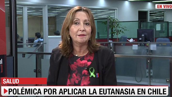 """Ministra (s) de Salud asegura que la eutanasia """"es un tema que debe ser discutido por la sociedad"""""""