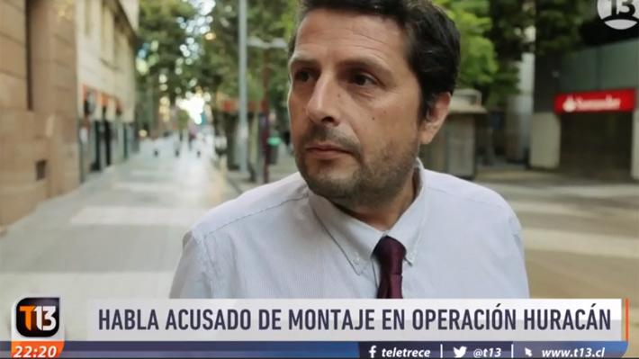 """Operación Huracán: Ingeniero acusado de montaje realiza prueba en TV de su programa """"Antorcha"""""""