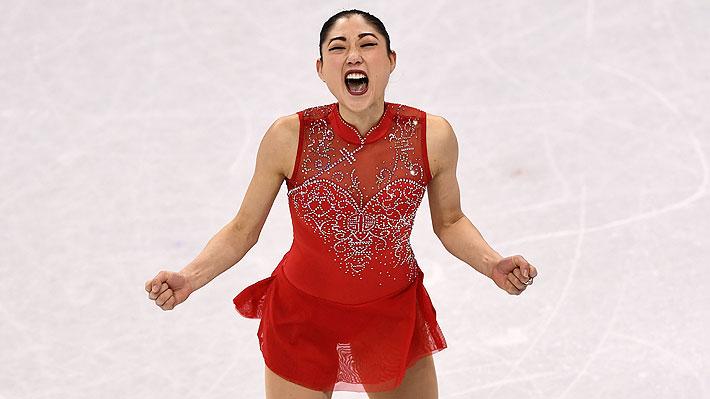 La espectacular pirueta de una patinadora artística en los JJ.OO. de Invierno que maravilló en Pyeongchang