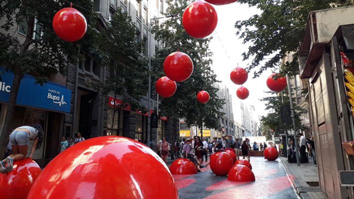 Paseo Bandera estrena nuevo tramo con intervenciones artísticas, mobiliario y efectos ópticos