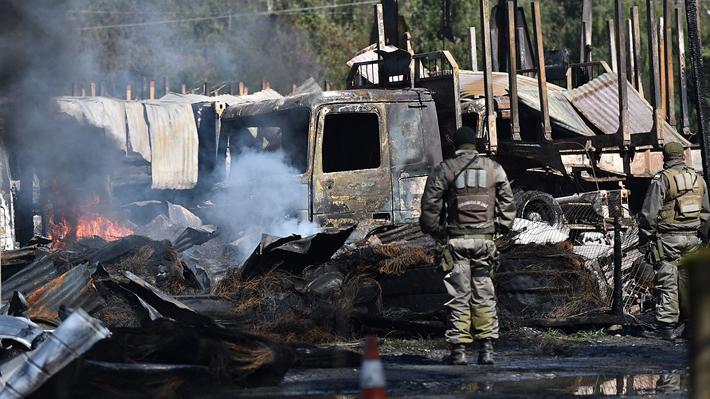 """""""Huracán"""": Fiscal confirma """"inconsistencias"""" en informes de Carabineros por quema de camiones en Los Ríos"""
